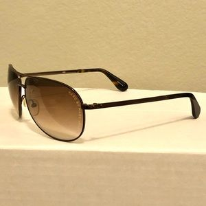 Marc Jacobs aviator brown sunglasses